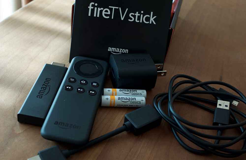Fire TV Stick 内容物
